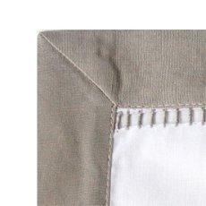 画像3: 手刺繍オリーブオイル柄フレームマット|白| (3)