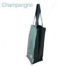 画像4: 【クチュール/雑貨】シャンパン手刺繍ボトルケース*グリーン* (4)