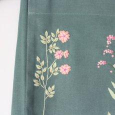 画像5: 【クチュール/エプロン】ナチュール手刺繍カフェエプロン|グリーン| (5)