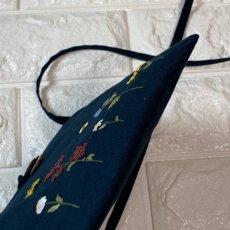 画像3: 手刺繍ポシェットバタフライ&ビー柄  (3)
