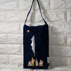画像4: 【クチュール/雑貨】オリーブオイル手刺繍ティッシュ箱ホルダー (4)