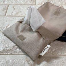画像2: 【クチュール/雑貨】ラベンダー手刺繍ミニティッシュケース&移動ポケット (2)