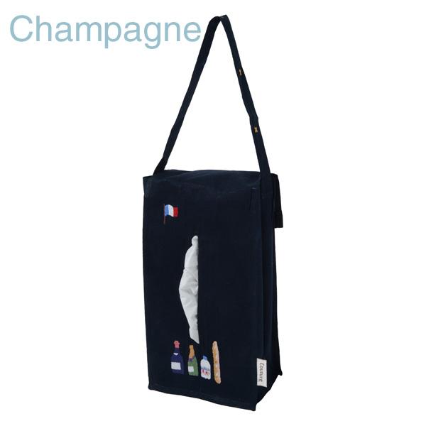 画像1: 【クチュール/生活雑貨】シャンパン手刺繍ティッシュボックスホルダー ネイビー (1)